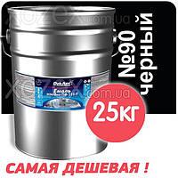 Декарт Dekart Краска-Эмаль ПФ-115 Чёрная №90 25кг