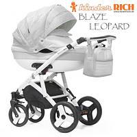 Универсальная коляска 2 в 1 Kinder Rich Blaze Leopard Crystal