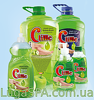 Жидкое мыло с глицерином «Зеленое яблоко» Clime, 0,4л. (дозатор)