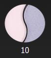 Тени компактные Relouis Silky Eyes №10