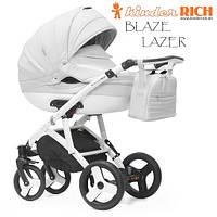 Универсальная коляска 2 в 1 Kinder Rich Blaze Lazer Ice