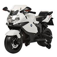 Электромобиль-мотоцикл Bambi BMW 1300s Белый
