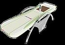 Массажная кровать-тепловой массажер NM 5000 Нефрит Белый