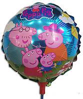 Воздушный шарик на палочке маленький