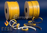 Стекловолоконный шнур на клейкой основе Europalit TSP 10х2 мм