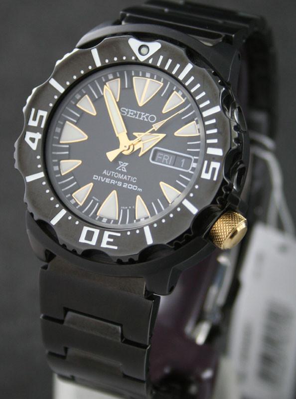 Часы Seiko Monster Prospex SRP583K1 Automatic Diver's 4R36