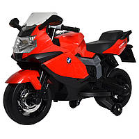 Электромобиль-мотоцикл Bambi BMW 1300s Красный