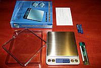 Точные ювелирные настольные весы 6295 А - 500 граммовые (до сотых - 0,01)