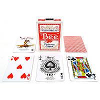 Карты игральные Bee Standard (красные)