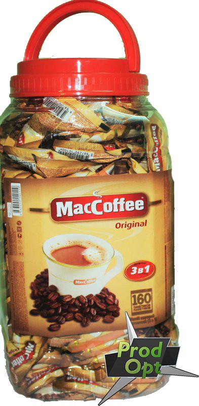 Кава розчинна Маккофе 3в1 Класік 160 пакетів