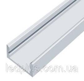 Алюминиевый профиль для светодиодной ленты ЛП7(не анодированный без рассеивателя)