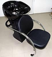 """Кресло - мойка парикмахерская стационарная для мытья волос """"ДенІС professional"""" - New York / Lux"""