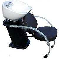 """Кресло - мойка парикмахерская стационарная для мытья волос """"ДенІС professional"""" - New York Fashion / Нью Йорк Фешн 01"""