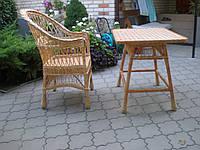 Кресло из натуральной лозы, фото 1