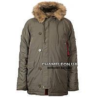 Куртка зимняя аляска n-3b Olive Олива