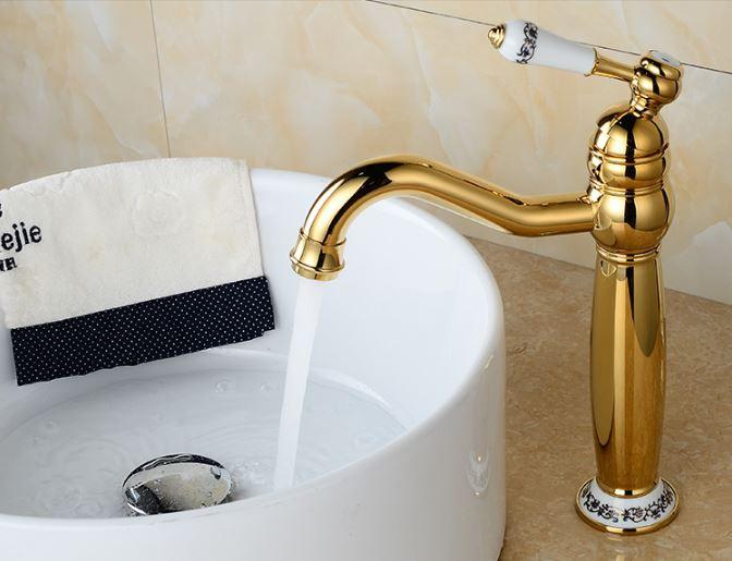 Смеситель кран для ванной комнаты однорычажный