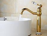 Смеситель кран для ванной комнаты однорычажный, фото 2