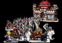 """Конструктор """"SLUBAN"""" рыцари, замок, колесница, фигурки, 839 дет., в кор. 64*47,5*9см (6шт)"""