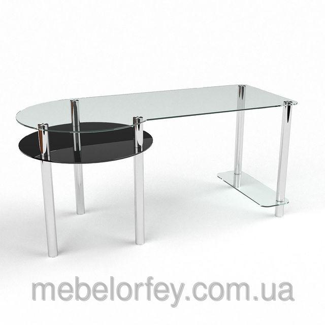 """Стеклянные компьютерные столы производителя """"БЦ-Стол"""" (Украина)"""