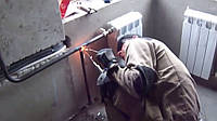 Сварка труб водопровода и сантехники