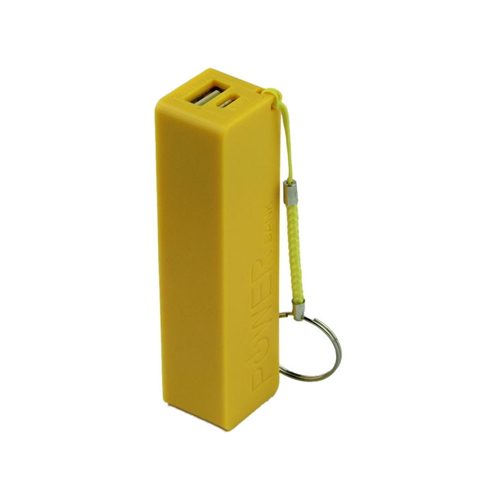 Внешний аккумулятор Power Bank 18650 Желтый