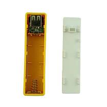 Внешний аккумулятор Power Bank 18650 Желтый, фото 3