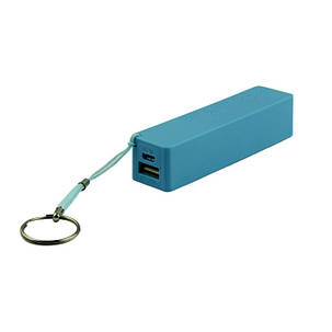 Внешний аккумулятор Power Bank 18650 Синий, фото 2