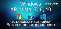 Установка Windows на сервер и клиентский ПК