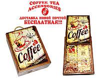 Подарочный набор РЕТРО! Медная турка, ложка для турки, натуральный кофе, чаи! Бесплатно Новой Почтой