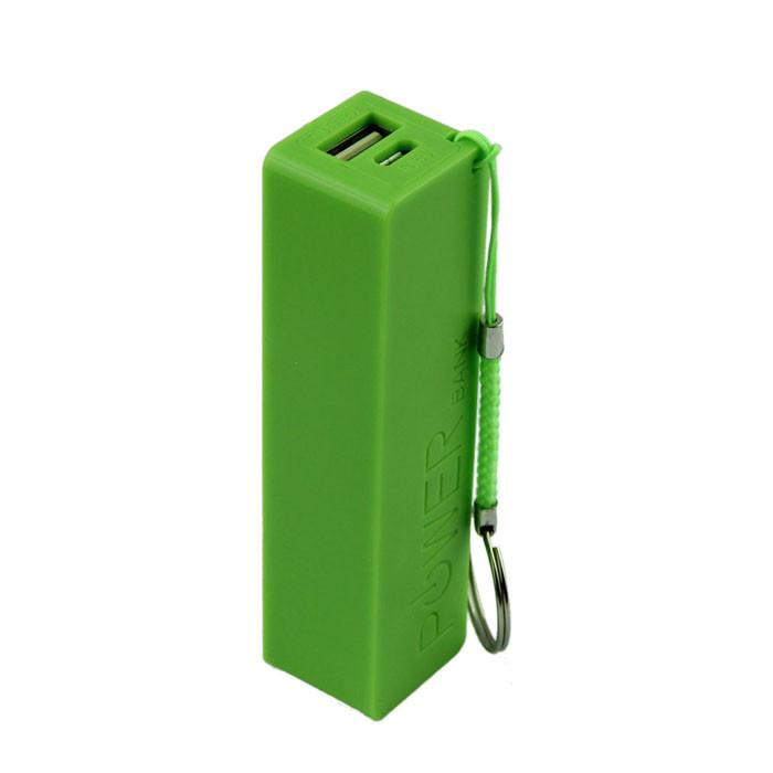 Внешний аккумулятор Power Bank 18650 Зеленый