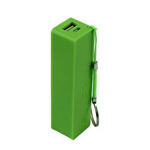 Внешний аккумулятор Power Bank 18650 Зеленый, фото 2