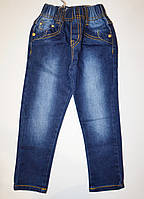 Детские джинсы на резинке 86, 98, 104, 110