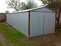 Сварные металлические гаражи