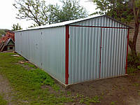 Сварные металлические гаражи, фото 1