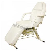 Косметологическая кушетка для ZD-806 для косметолога, для наращивания ресниц, высота -70см, цвет-ваниль