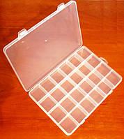 Органайзер для хранения мелких изделий, бисера 24 деления