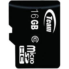 ⇒Карта памяти TEAM 16 GB micro SDHC сlass 10 для смартфона и планшета
