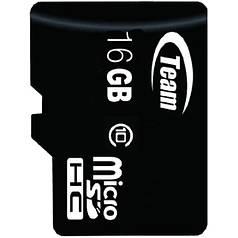 Карта памяти TEAM 16 GB microSDHC сlass 10 для смартфона и планшета