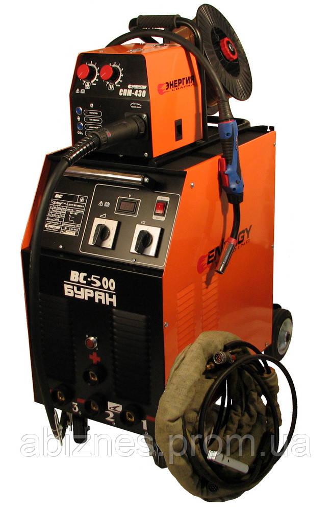 Полуавтомат сварочный ВС-500 «Буран» с СПМ-430