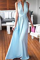 DL-60138-2 Платье Трансформер Шифоновый в Пол