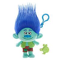 Мягкая игрушка «Trolls» (6202B) тролль с клипсой Бранч (Branch), 22 см