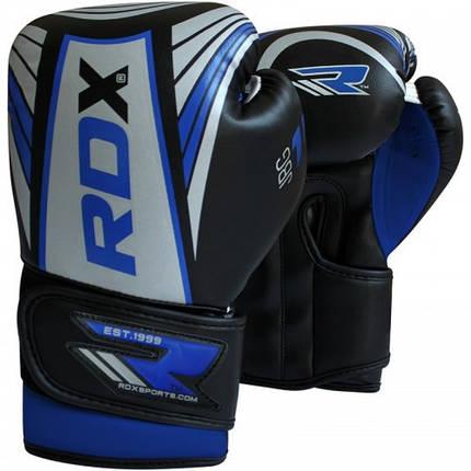 Детские боксерские перчатки RDX Blue, фото 2