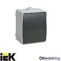 Выключатель кнопочный серии ВСк20-1-0-ФСр, для открытой установки IP54 ИЭК