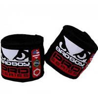 Бинты боксерские Bad Boy 2,5m Black