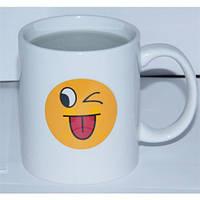 Кружка-чашка хамелеон Смайлик 1