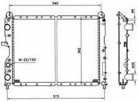 54501 NRF Радиатор охлаждения   ALFA ROMEO 155 92-
