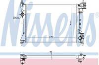 630753 NISSENS Радиатор охлаждения   ALFA ROMEO MITO (08-) 1.4 I (+)