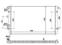 53406A NRF Радиатор охлаждения   AUDI A3 03-
