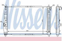61645 NISSENS Радиатор охлаждения   CHEVROLET  AVEO седан (T250, T255),  KALOS,  KALOS седан,
