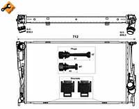 53472 NRF Радиатор охлаждения  BMW 116D 09-